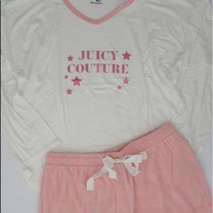 NWT Juicy Couture sleep set size Large